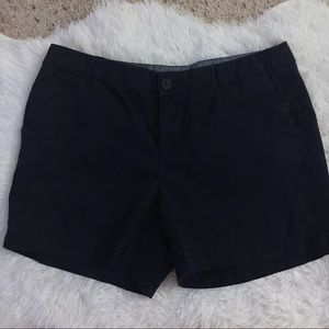 Merona Navy Blue Chino Shorts size 6